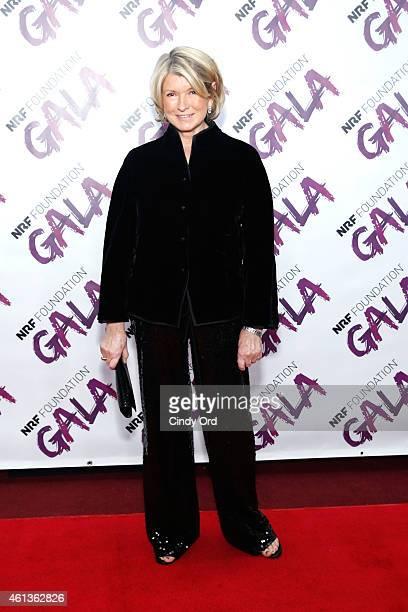 Martha Stewart attends NRF Foundation Gala on January 11 2015 in New York City