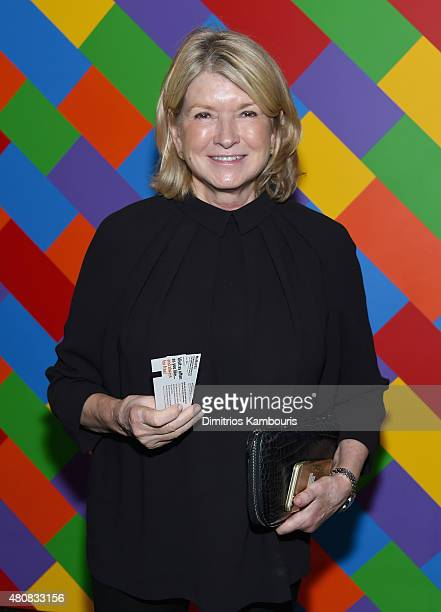 Martha Stewart attends Sony Pictures Classics 'Irrational Man' premiere hosted by Fiji Water Metropolitan Capital Bank and The Cinema Society on July...