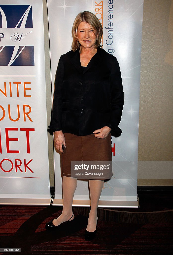 Martha Stewart attends the 2013 Spark. Ignite Your Network conference at the Sheraton New York Hotel & Towers on April 26, 2013 in New York City.