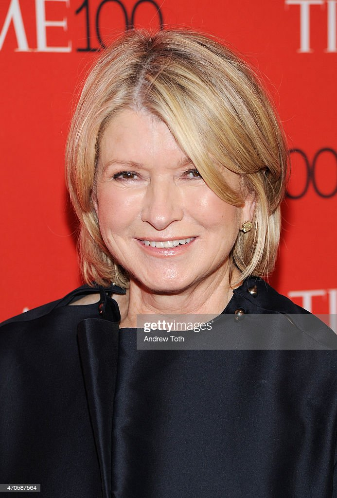 <a gi-track='captionPersonalityLinkClicked' href=/galleries/search?phrase=Martha+Stewart&family=editorial&specificpeople=202905 ng-click='$event.stopPropagation()'>Martha Stewart</a> attends the 2015 Time 100 Gala at Frederick P. Rose Hall, Jazz at Lincoln Center on April 21, 2015 in New York City.