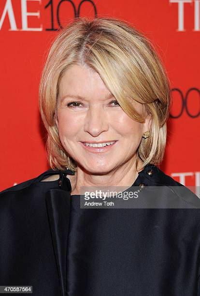 Martha Stewart attends the 2015 Time 100 Gala at Frederick P Rose Hall Jazz at Lincoln Center on April 21 2015 in New York City
