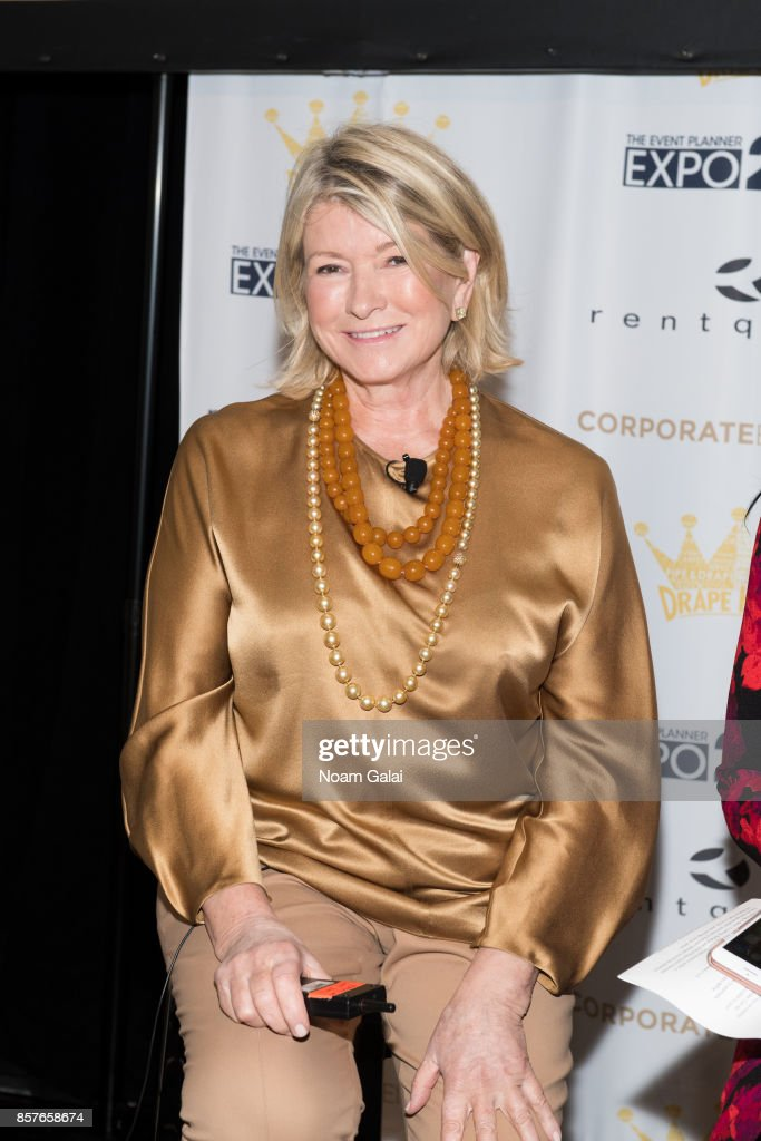 Martha Stewart attends the 2017 Event Planner Expo at Metropolitan Pavilion on October 4, 2017 in New York City.
