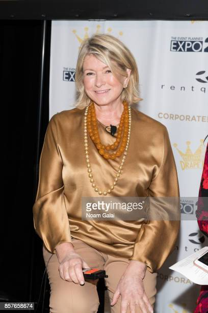 Martha Stewart attends the 2017 Event Planner Expo at Metropolitan Pavilion on October 4 2017 in New York City