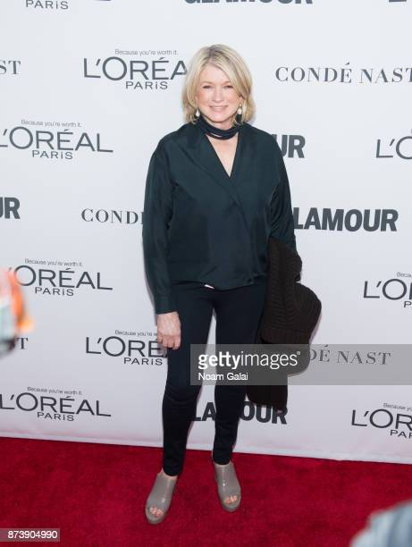 Martha Stewart attends the 2017 Glamour Women of The Year Awards at Kings Theatre on November 13 2017 in New York City