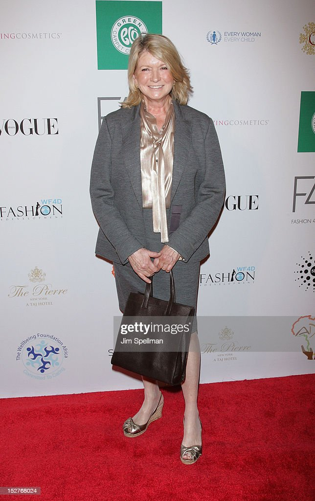 Martha Stewart attends the 2nd Annual Fashion 4 Development First Ladies Luncheon at The Pierre Hotel on September 25, 2012 in New York City.