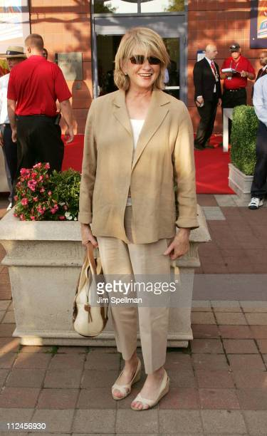 Martha Stewart attends the 8th Annual USTA Serves' OPENing Gala during the 2008 US Open at the President's Gate at the USTA Billie Jean King National...