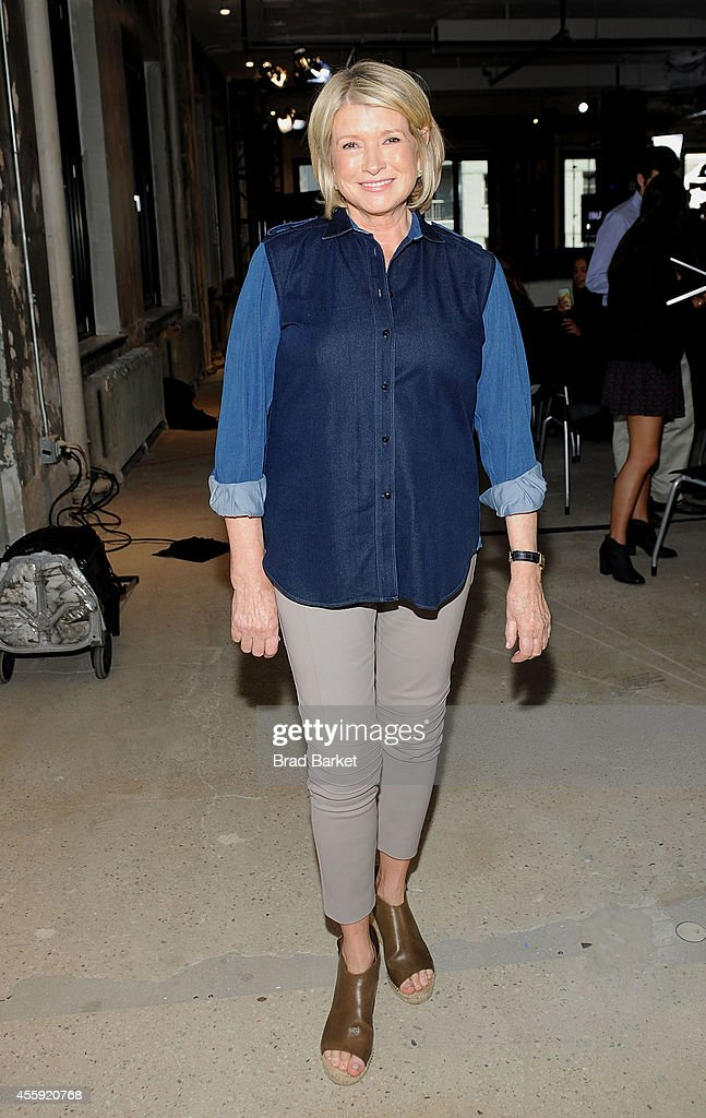 <a gi-track='captionPersonalityLinkClicked' href=/galleries/search?phrase=Martha+Stewart&family=editorial&specificpeople=202905 ng-click='$event.stopPropagation()'>Martha Stewart</a> attends the AOL's BUILD Speaker Series at AOL Studios In New York on September 22, 2014 in New York City.