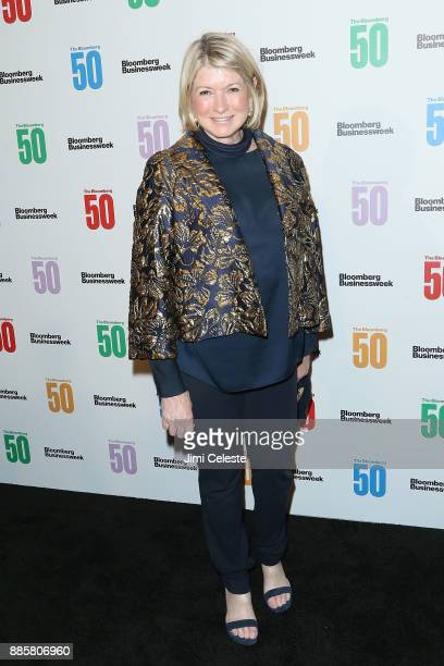 Martha Stewart attends 'The Bloomberg 50' celebration at Gotham Hall on December 4 2017 in New York City
