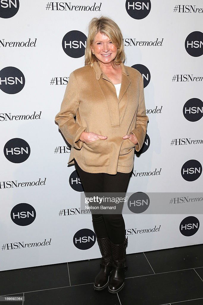 Martha Stewart attends the celebration of HSN Digital Redesign at Marquee New York on January 16, 2013 in New York City.