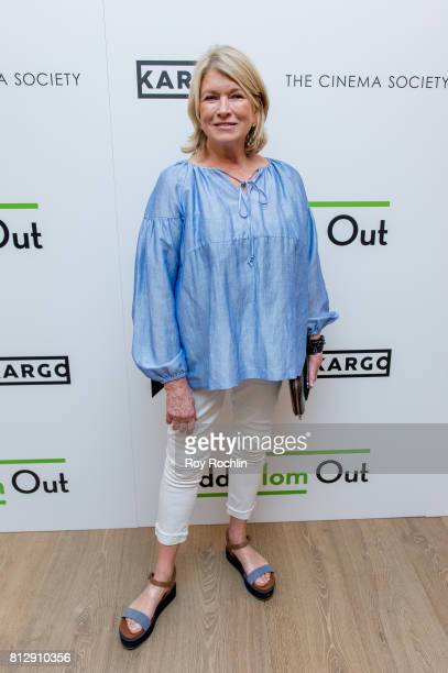 Martha Stewart attends The Cinema Society and Kargo host the season 3 Premiere Of Bravo's 'Odd Mom Out' at the Whitby Hotel on July 11 2017 in New...