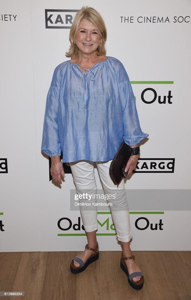 Martha Stewart attends The Cinema Society Hosts The Season 3 Premiere Of Bravo's 'Odd Mom Out at the Whitby Hotel on July 11, 2017 in New York City.