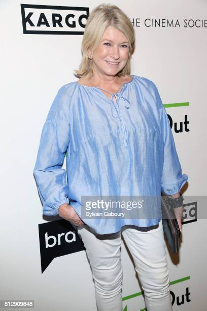Martha Stewart attends The Cinema Society Kargo host the Season 3 Premiere of Bravo's 'Odd Mom Out' on July 11 2017 in New York City