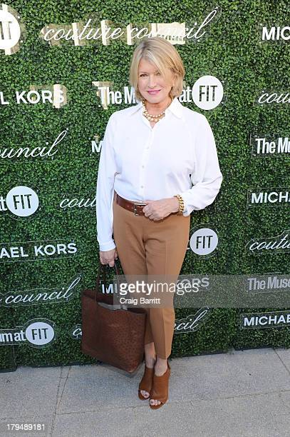 Martha Stewart attends The Couture Council of The Museum at the Fashion Institute of Technology hosted luncheon honoring Michael Kors with the 2013...