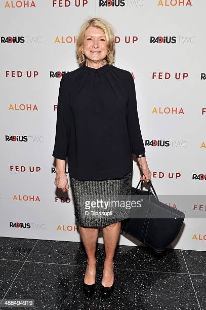 Martha Stewart attends the 'Fed Up' premiere at the Museum of Modern Art on May 6 2014 in New York City