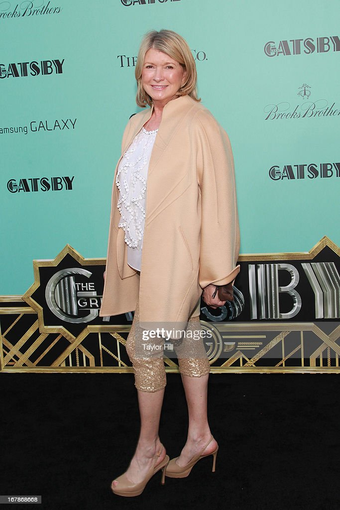 <a gi-track='captionPersonalityLinkClicked' href=/galleries/search?phrase=Martha+Stewart&family=editorial&specificpeople=202905 ng-click='$event.stopPropagation()'>Martha Stewart</a> attends 'The Great Gatsby' world premiere at Alice Tully Hall at Lincoln Center on May 1, 2013 in New York City.
