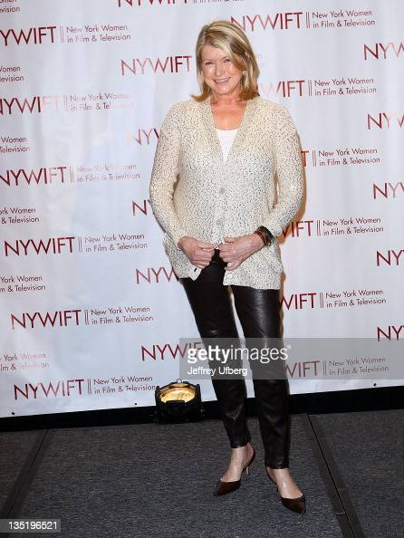 Martha Stewart attends the New York Women In Film Television 31st Annual Muse Awards at the New York Hilton Grand Ballroom on December 7 2011 in New...