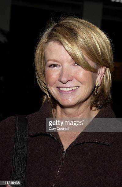 Martha Stewart attends the reception for the documentary film 'Why We Fight' written and directed by Eugene Jarecki at the Sony Screening Room in New...