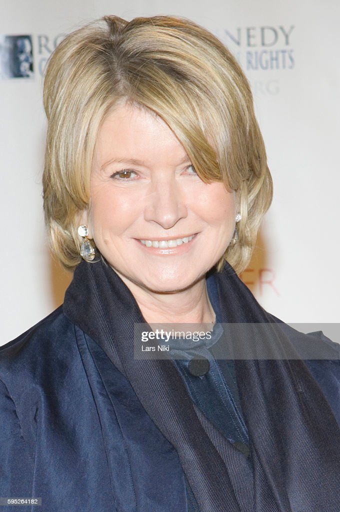 Martha Stewart attends the 'Robert F Kennedy Center For Justice Human Rights Bridge Dedication Gala' at Pier 60 in New York City