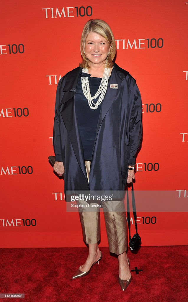 Martha Stewart attends the TIME 100 Gala, TIME'S 100 Most Influential People In The World at Frederick P. Rose Hall, Jazz at Lincoln Center on April 26, 2011 in New York City.