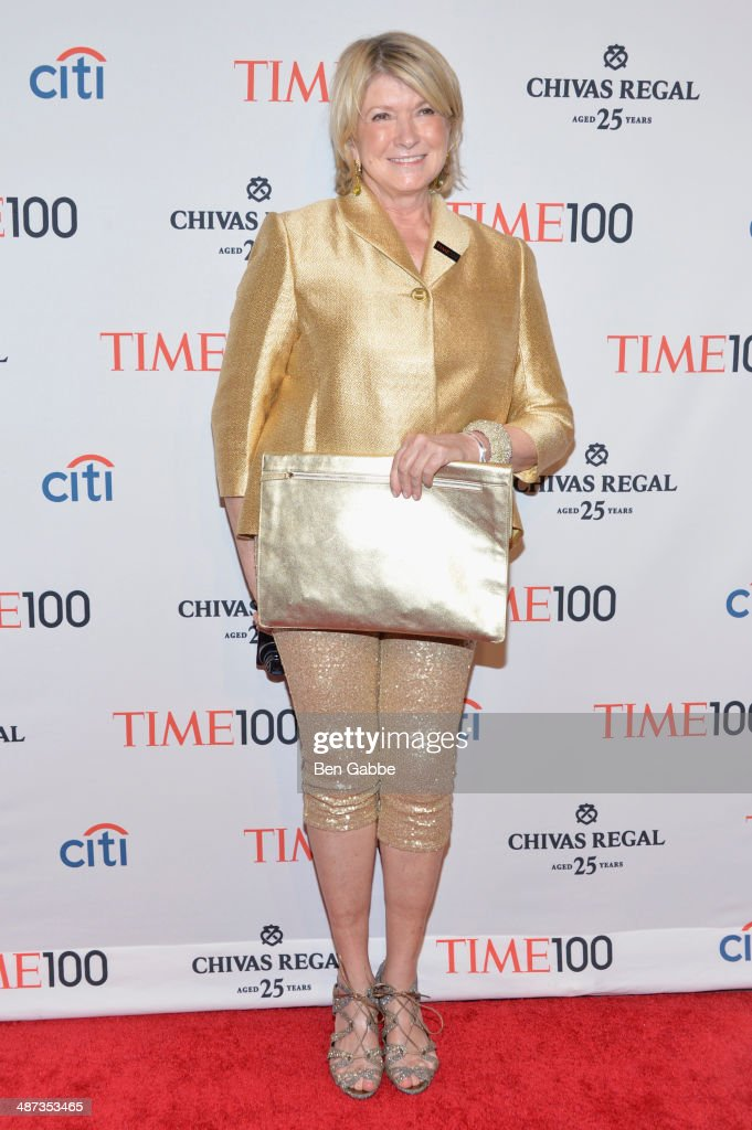 <a gi-track='captionPersonalityLinkClicked' href=/galleries/search?phrase=Martha+Stewart&family=editorial&specificpeople=202905 ng-click='$event.stopPropagation()'>Martha Stewart</a> attends the TIME 100 Gala, TIME's 100 most influential people in the world, at Jazz at Lincoln Center on April 29, 2014 in New York City.