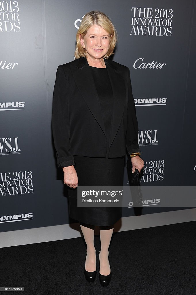 <a gi-track='captionPersonalityLinkClicked' href=/galleries/search?phrase=Martha+Stewart&family=editorial&specificpeople=202905 ng-click='$event.stopPropagation()'>Martha Stewart</a> attends the WSJ. Magazine's 'Innovator Of The Year' Awards 2013 at The Museum of Modern Art on November 6, 2013 in New York City.