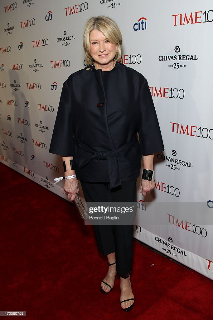 <a gi-track='captionPersonalityLinkClicked' href=/galleries/search?phrase=Martha+Stewart&family=editorial&specificpeople=202905 ng-click='$event.stopPropagation()'>Martha Stewart</a> attends TIME 100 Gala, TIME's 100 Most Influential People In The World on April 21, 2015 in New York City.