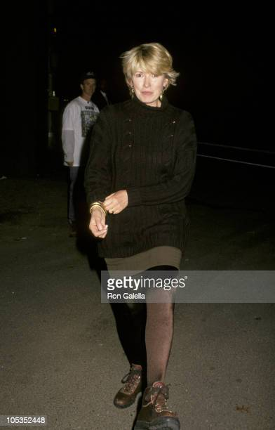 Martha Stewart during Benefit for the Nature Conservancy October 10 1994 at Great Lawn Central Park in New York City New York United States