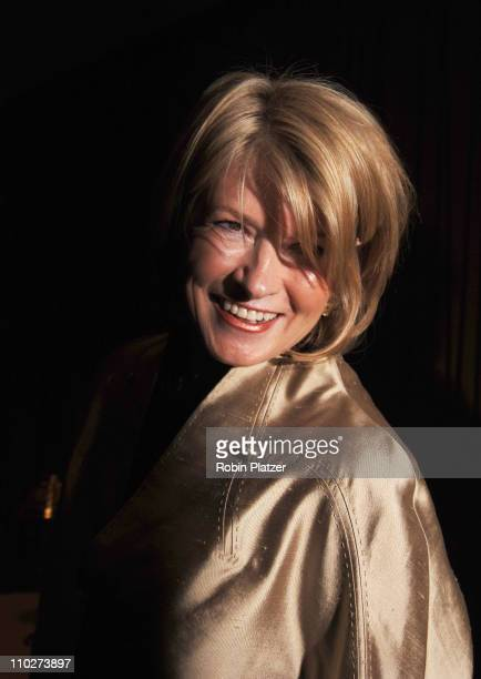 Martha Stewart during The 33rd Annual Daytime Creative Arts Emmy Awards in New York Arrivals at Marriott Marquis Hotel in New York City New York...