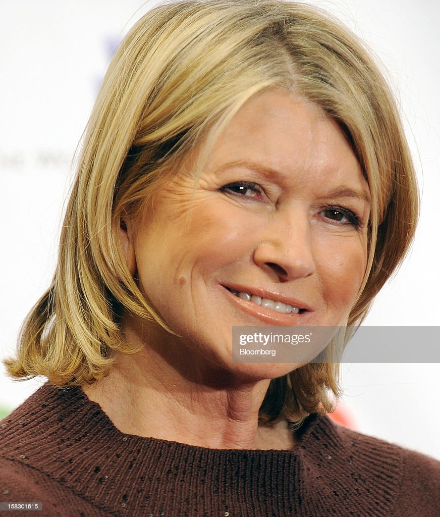 <a gi-track='captionPersonalityLinkClicked' href=/galleries/search?phrase=Martha+Stewart&family=editorial&specificpeople=202905 ng-click='$event.stopPropagation()'>Martha Stewart</a>, founder of <a gi-track='captionPersonalityLinkClicked' href=/galleries/search?phrase=Martha+Stewart&family=editorial&specificpeople=202905 ng-click='$event.stopPropagation()'>Martha Stewart</a> Living Omnimedia Inc., stands for a photograph at the 12.12.12 Concert for Sandy Relief in New York, U.S., on Wednesday, Dec. 12, 2012. MSG Holdings Chief Executive James Dolan and John Sykes, president of CC Media Holdings Inc., joined film producer Harvey Weinstein to help assemble top music stars to perform for free to raise money for Hurricane Sandy victims. Chase, the consumer division of JPMorgan Chase & Co., agreed to become the concert's presenting sponsor. Photographer: Peter Foley/Bloomberg via Getty Images