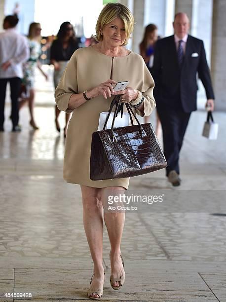 Martha Stewart is seen in Midtown on September 3 2014 in New York City
