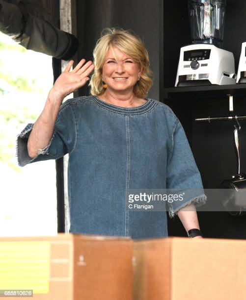 Martha Stewart is seen onstage during the 2017 BottleRock Napa Valley Festival on May 26 2017 in Napa California