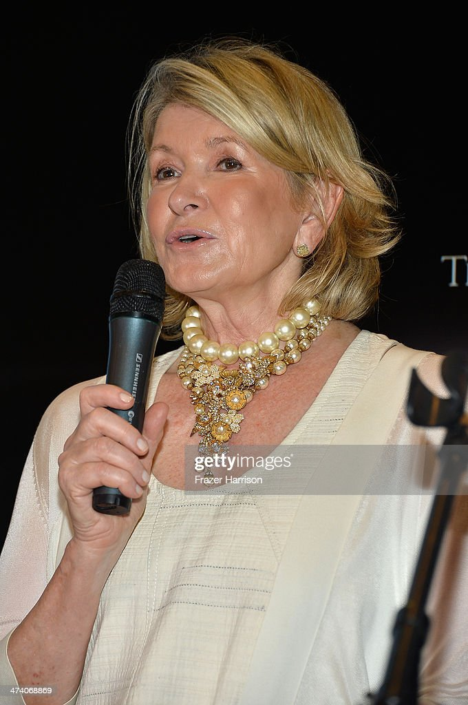 <a gi-track='captionPersonalityLinkClicked' href=/galleries/search?phrase=Martha+Stewart&family=editorial&specificpeople=202905 ng-click='$event.stopPropagation()'>Martha Stewart</a> speaks onstage <a gi-track='captionPersonalityLinkClicked' href=/galleries/search?phrase=Martha+Stewart&family=editorial&specificpeople=202905 ng-click='$event.stopPropagation()'>Martha Stewart</a> Celebrates South Beach Wine and Food Festival with DuJour Magazine's Jason Binn and Lee Brian Schrager at The Ritz-Carlton Miami Beach Residences on February 21, 2014 in Miami Beach, Florida.