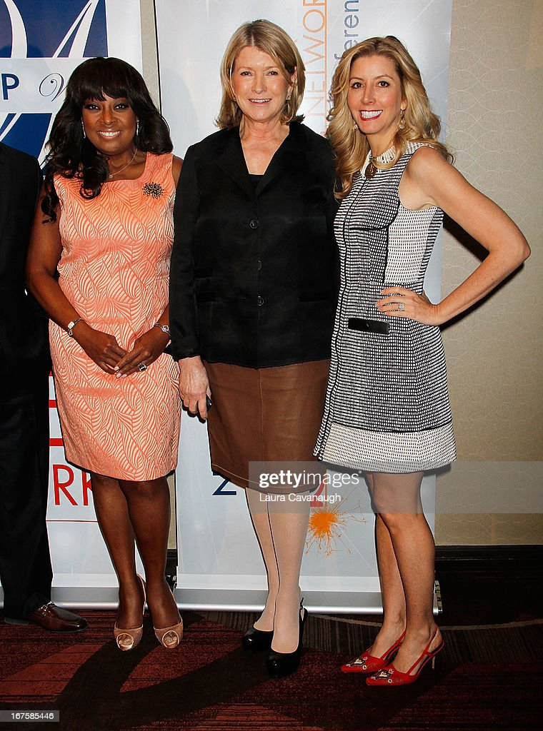 Martha Stewart, Star Jones and Sarah Blakely attend the 2013 Spark. Ignite Your Network conference at the Sheraton New York Hotel & Towers on April 26, 2013 in New York City.