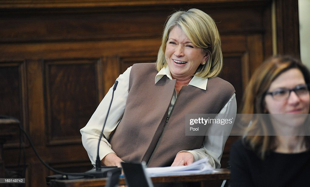 <a gi-track='captionPersonalityLinkClicked' href=/galleries/search?phrase=Martha+Stewart&family=editorial&specificpeople=202905 ng-click='$event.stopPropagation()'>Martha Stewart</a> (2nd R) testifies in Manhattan Supreme Court March 5, 2013 In New York City. Stewart is testifying after Macy's Department Store sued the rival retailer J.C. Penney and <a gi-track='captionPersonalityLinkClicked' href=/galleries/search?phrase=Martha+Stewart&family=editorial&specificpeople=202905 ng-click='$event.stopPropagation()'>Martha Stewart</a> Living Omnimedia when plans to launch <a gi-track='captionPersonalityLinkClicked' href=/galleries/search?phrase=Martha+Stewart&family=editorial&specificpeople=202905 ng-click='$event.stopPropagation()'>Martha Stewart</a> boutiques J.C. Penney stores in were announced in December of 2011.