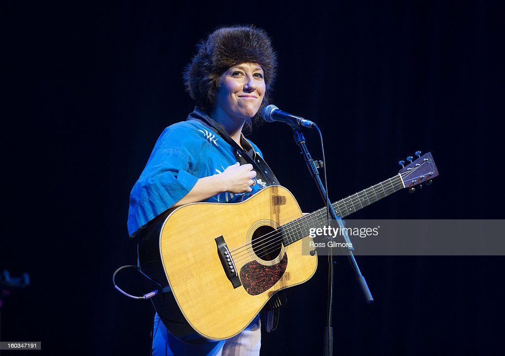 Martha Wainwright performs at The Celtic Connections Festival 2013 at Glasgow Royal Concert Hall on January 29, 2013 in Glasgow, United Kingdom.