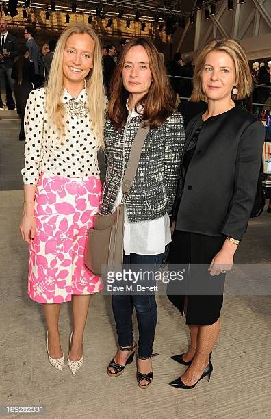 Martha Ward and Serena Linley attend the JCrew concept store to launch their partnership with Central Saint Martins College Of Arts And Design at The...