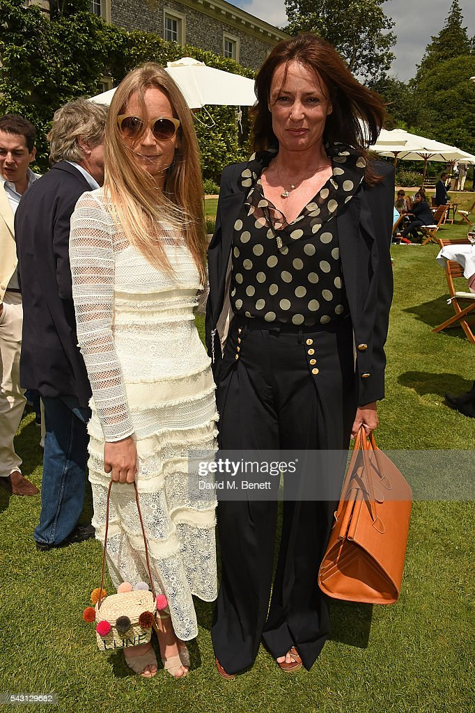 <a gi-track='captionPersonalityLinkClicked' href=/galleries/search?phrase=Martha+Ward&family=editorial&specificpeople=4263200 ng-click='$event.stopPropagation()'>Martha Ward</a> and Tricia Ronane attend The Cartier Style et Luxe at the Goodwood Festival of Speed at Goodwood on June 26, 2016 in Chichester, England.