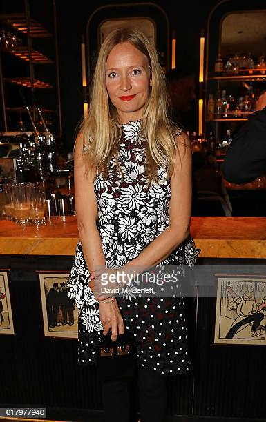 Martha Ward attends a private dinner hosted by Hikari Yokoyama to celebrate the Harper's Bazaar charity auction with Paddle8 in aid of Women For...