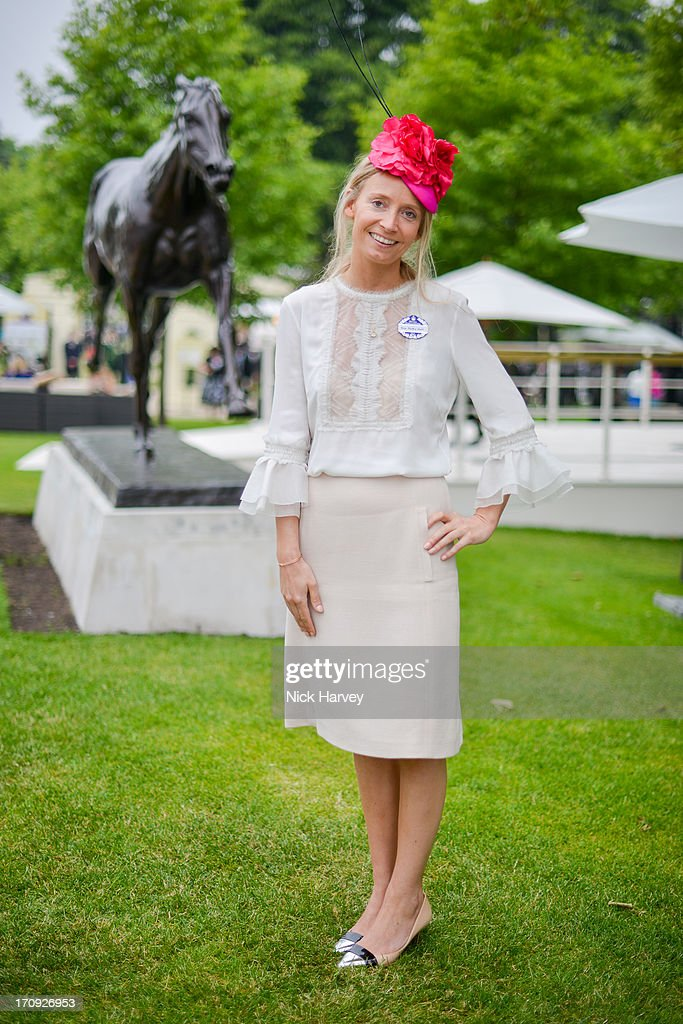 Martha Ward attends Ladies day on Day 3 of Royal Ascot at Ascot Racecourse on June 20, 2013 in Ascot, England.