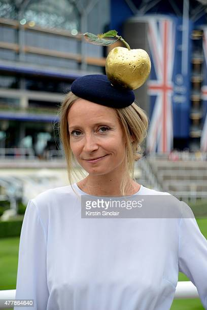 Martha Ward attends Royal Ascot 2015 at Ascot racecourse on June 20 2015 in Ascot England