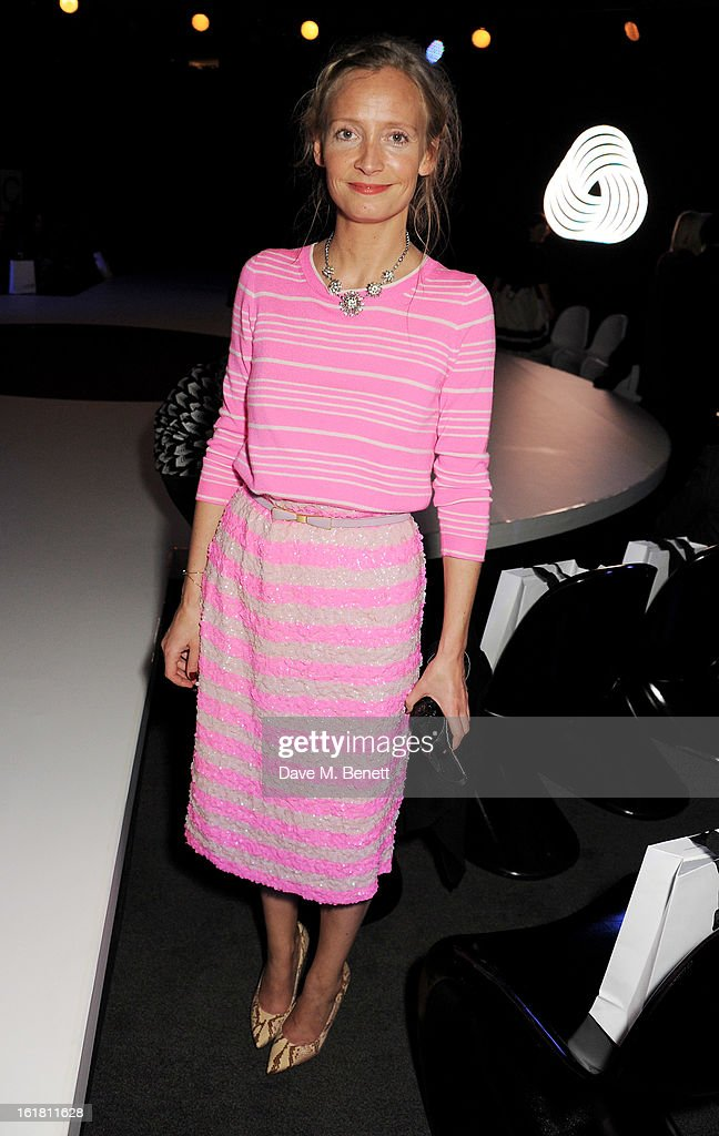 Martha Ward attends the 2013 International Woolmark Prize Final at ME London on February 16, 2013 in London, England.