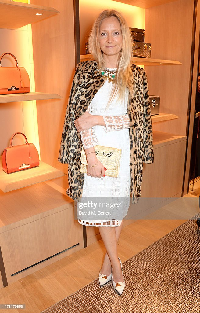 Martha Ward attends the Moynat London boutique opening on March 12, 2014 in London, England.