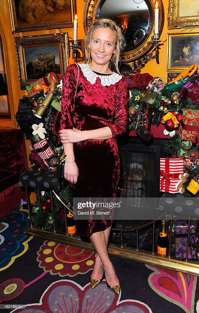 Martha Ward attends Veuve Clicquot Style Party at Annabel's on November 26, 2013 in London, England.