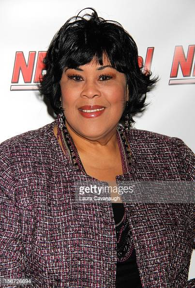 Martha Wash attends opening night of Andrea McArdle in 'NEWSical The Musical'at The Kirk Theater at Theatre Row on November 19 2012 in New York City