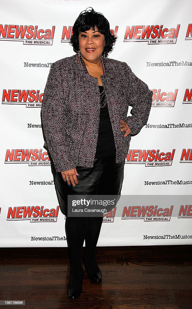 <a gi-track='captionPersonalityLinkClicked' href=/galleries/search?phrase=Martha+Wash&family=editorial&specificpeople=2644334 ng-click='$event.stopPropagation()'>Martha Wash</a> attends opening night of Andrea McArdle in 'NEWSical The Musical'at The Kirk Theater at Theatre Row on November 19, 2012 in New York City.
