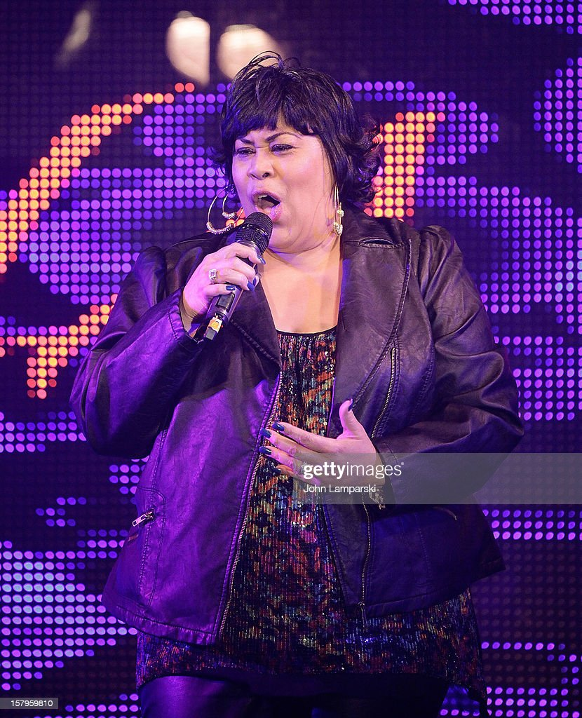 Martha Wash performs Mike Ruiz' Birthday Gala at XL Nightclub on December 7, 2012 in New York City.