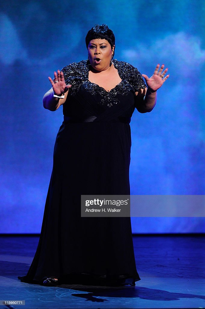 Martha Wash performs on stage during the 65th Annual Tony Awards at the Beacon Theatre on June 12, 2011 in New York City.