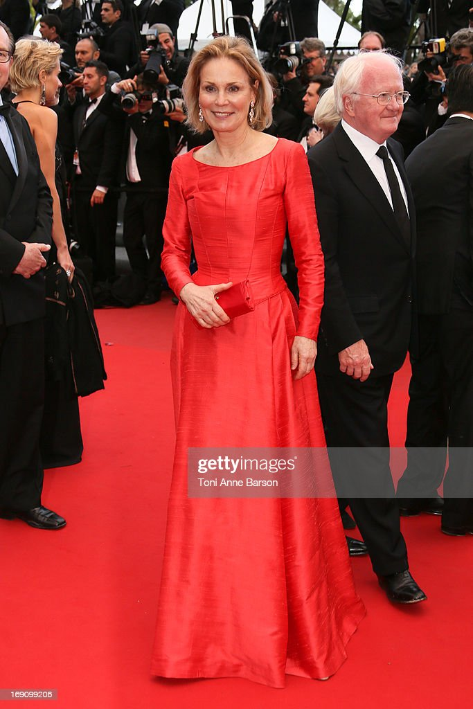 <a gi-track='captionPersonalityLinkClicked' href=/galleries/search?phrase=Marthe+Keller&family=editorial&specificpeople=2048296 ng-click='$event.stopPropagation()'>Marthe Keller</a> attends the Premiere of 'Inside Llewyn Davis' at The 66th Annual Cannes Film Festival on May 19, 2013 in Cannes, France.