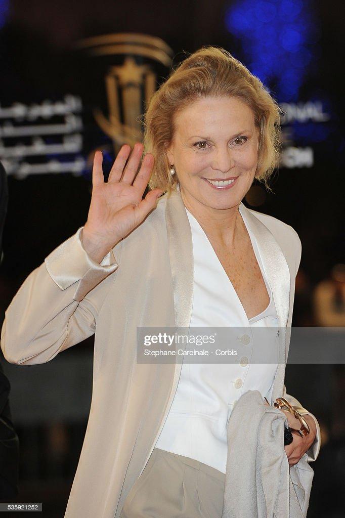 Marthe Keller attends the Short Films Award Ceremony, during the10th Marrakech Film Festival, in Marrakech.Eva Mendes attends the Short Films Award Ceremony, during the10th Marrakech Film Festival, in Marrakech.
