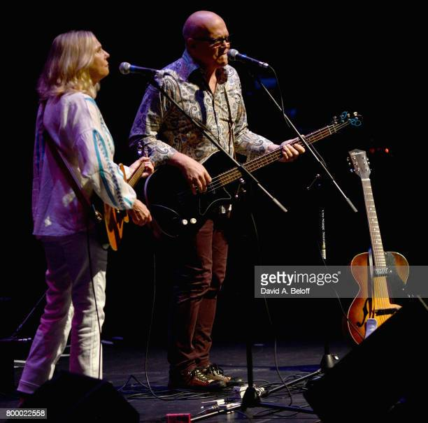 Marti Jones and Don Dixon open for Dave Mason at Sandler Center For The Performing Arts on June 22 2017 in Virginia Beach Virginia
